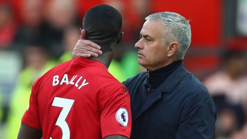 Mourinho substituted Eric Bailly after 19 minutes