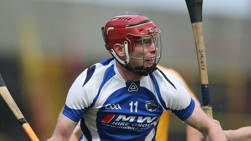 Zane Keenan hit 0-07 as Camross claimed a second successive Laois SHC title