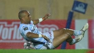 Simon Zebo scored once more for Racing 92 - but they fell to another defeat