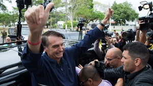Jair Bolsonaro won 46.3% of valid ballots in the first round