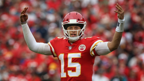 Kansas City Chiefs quarterback Patrick Mahomes had his first interception of the season, but still threw for 313 yards and rushed for a touchdown of his own.