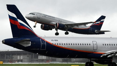 Flights will depart Moscow Sheremetyevo at 19.20 and arrive in Dublin at 20.45