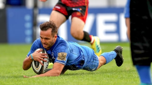 The New Zealander rolled his ankle against Munster