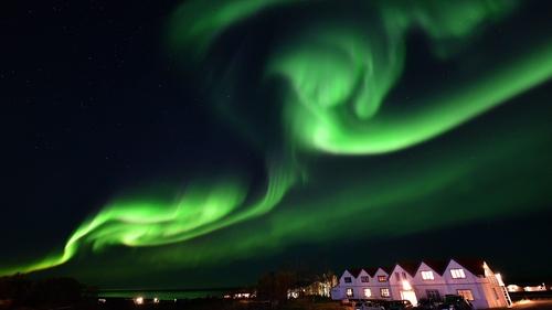 Star gaze together in Iceland.