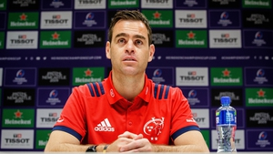 Munster head coach Johann Van Graan.