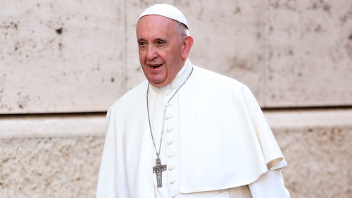 The pleasure of eating and sexual pleasure come from God, Pope Francis says in a new book of interviews