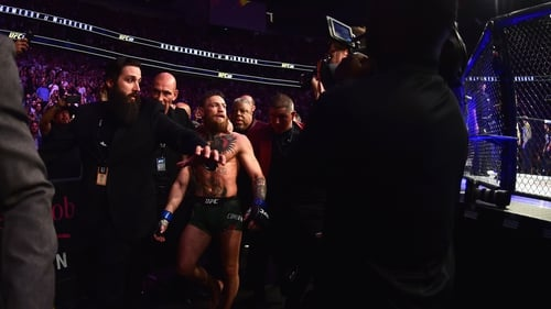 Conor McGregor's coach John Kavanagh says trash talking is integral to his personality