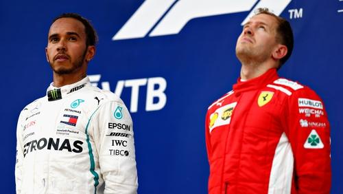 Lewis Hamilton can win the title at the U.S. Grand Prix