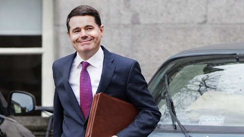 Finance Minister Paschal Donohoe cautions against taking anything for granted
