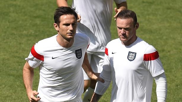 Frank Lampard and Wayne Rooney