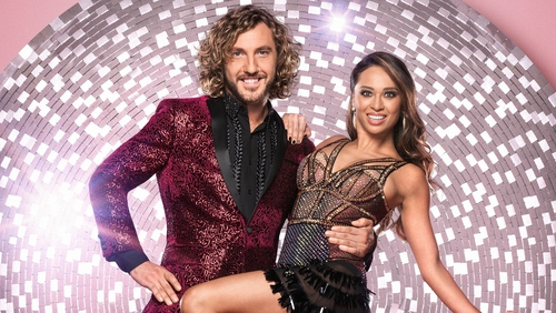 Katya Jones and Seann Walsh were paired on Strictly Come Dancing in 2018 Photo: BBC