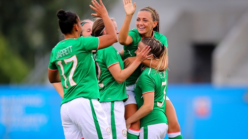 Ireland's senior women's team finished third in their group in World Cup 2019 qualification