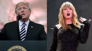 "Donald Trump likes Taylor Swift's music ""25% less"""