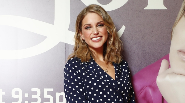 Amy Huberman at the Finding Joy launch in Dublin