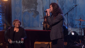 Mavis Staples and Hozier perform Nina Cried Power on The Ellen Show