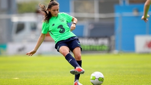 Shelbourne's Jessica Ziu got more international experience in Tuesday's friendly