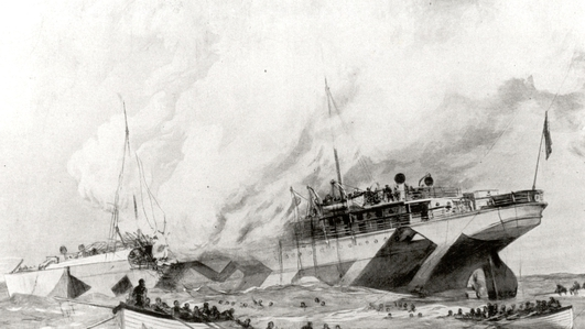 The sinking of RMS Leinster and SS Dundalk