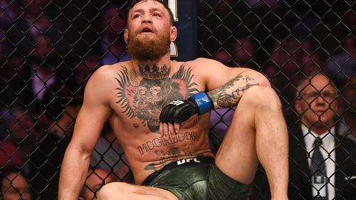 Conor McGregor's last bout was a defeat to Khabib Nurmagomedov in October 2018