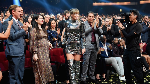 Democrat-Backing Taylor Swift Stays Political At American Music Awards