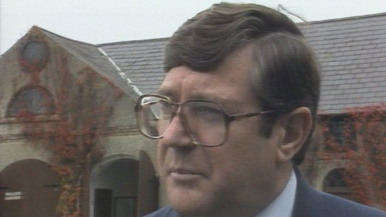 Minister for Communications Ray Burke (1988)