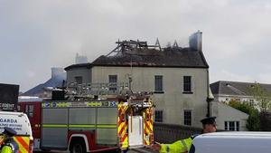 Gardaí have begun an investigation into the cause of the blaze