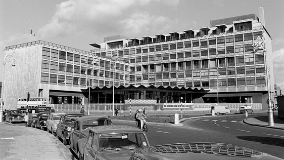 Busáras bus station, Dublin (1967)