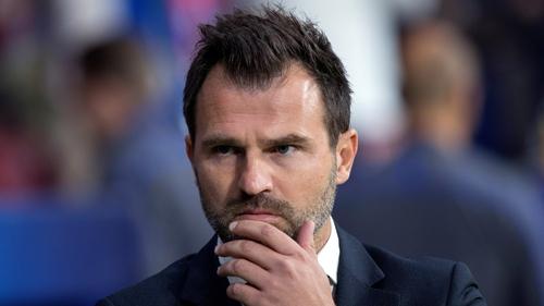 Club Bruges said their Croatian coach Ivan Leko was taken in for questioning