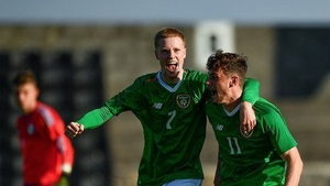 Will Ferry opened the scoring for Ireland