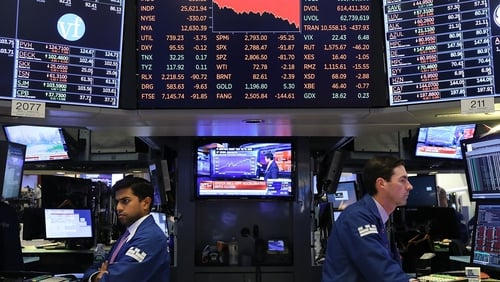 The Dow tumbles more than 400 points