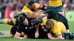 Australia and the All Blacks will collide in Perth