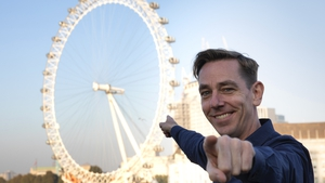 "Ryan Tubridy says ""it's a different day at the office"" for London Late Late"