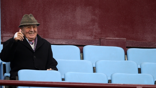 Doug Ellis had two spells in charge at Villa Park