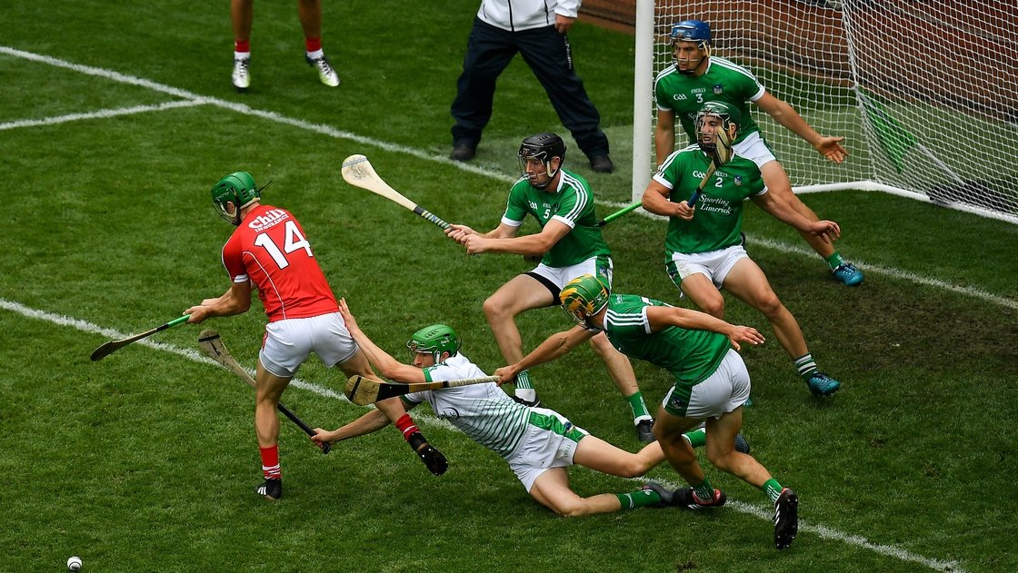 Image - Quaid's intervention to deny Cork in the 2018 All-Ireland semi-final