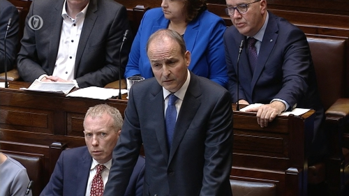 Micheál Martin said when the Opposition raises legitimate questions, they should be listened to