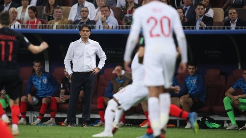 Croatian manager Zlatko Dalic said his team were underestimated by the English media - but not the players or coach