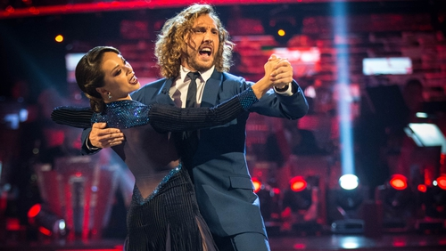Strictly Come Dancing: Seann and Katya return to dancefloor