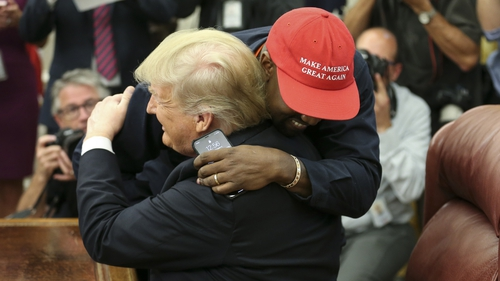 Kanye West Meets with Trump at White House