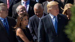 Dina Powell previously served in the Trump White House as a national security adviser