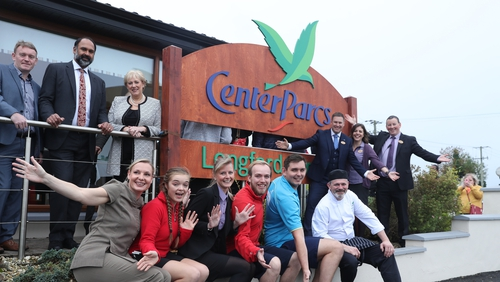 Martin Dalby, CEO of Center Parcs UK, said the the company is confident it will attract 1,000 people in Co Longford