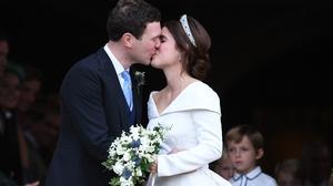 The couple met eight years ago in Switzerland