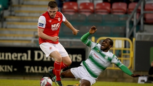 St Patrick's Athletic host Shamrock Rovers in the final Dublin derby of the season