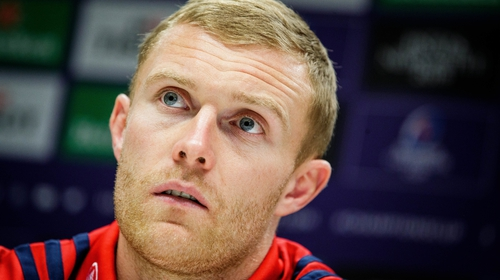 Keith Earls will make his 155th appearance for Munster at Sandy Park