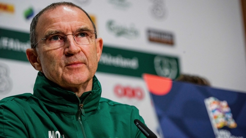 "Martin O'Neill: ""Denmark obviously beat us convincingly last year. We'd like to redress that if we can naturally."""