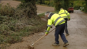 The clean-up operation is underway across the areas worst affected by the storm