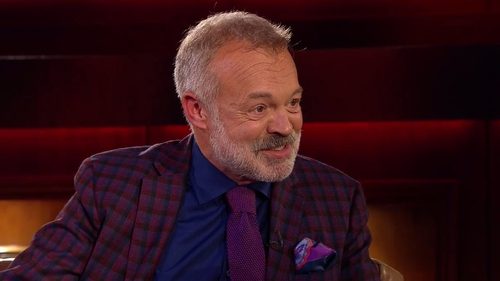 Graham Norton - Back on BBC One with new series next month