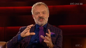 "Graham Norton says his default position is ""I could always go back to Ireland"""
