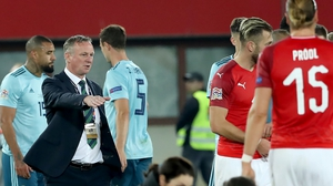Michael O'Neill wants to see his side be braver in possession.