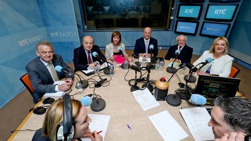 Peter Casey, Gavin Duffy, Joan Freeman, Seán Gallagher, Michael D Higgins and Liadh Ní Riada took part