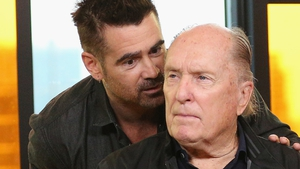 Colin Farrell and Robert Duvall promoting Widows at the Toronto International Film Festival last month
