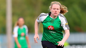 Amber Barrett was on fire for Peamount